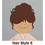 Hairstyle E